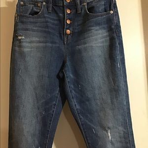 Madewell Jeans - Madewell buttonfly highrise jean